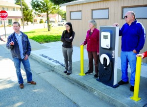 Charged Up In San Juan; San Benito Gets First Electric Car Charging Station